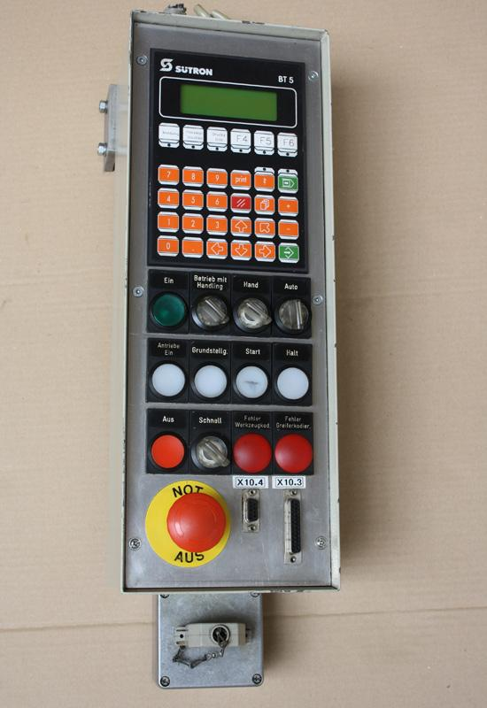 Machine accessories Controlpanel Sutron